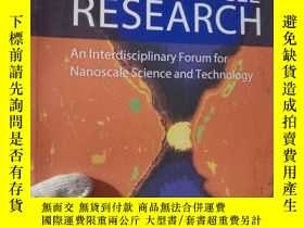 二手書博民逛書店JOURNAL罕見OF NANOPARTICLE RESEARC