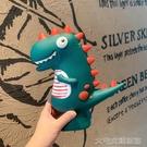 存錢筒恐龍存錢罐可愛創意兒童儲蓄罐擺件網紅簡約防摔儲錢罐男女生禮物 快速出貨