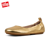 熱銷推薦7折【FitFlop】ALLEGRO LEATHER BALLERINAS(黃金色)