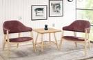 【南洋風休閒傢俱】沙發系列 –坎芝拉單人休閒布沙發餐椅 洽談椅 大樓中庭招待椅 CM740-1