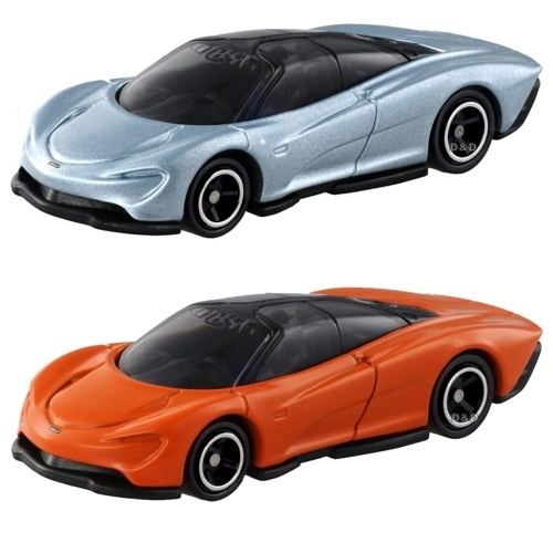 《 TOMICA 火柴盒小汽車 》初回NO.93麥拉倫Speedtail+NO.93麥拉倫Speedtail / JOYBUS玩具百貨