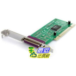 [103 美國直購 ShopUSA] StarTech 1 Port PCI Parallel Adapter Card PCI1PECP 適配器卡 $1343