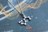 925銀+鋯石小星星 獅子座 Leo 極簡星座珠寶項鍊 DeeDee Jewellery 生日禮物、母親節禮物