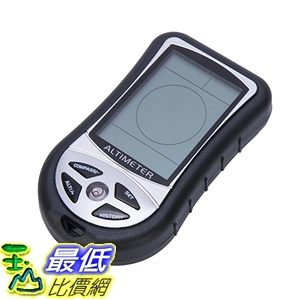 [7美國直購] 氣壓計 SUNDERPOWER 8 In 1 Digital Multifunction LCD Compass Altimeter Barometer