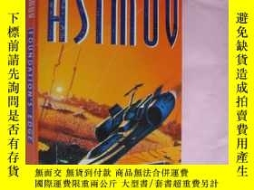 二手書博民逛書店SAAC罕見ASIMOV FOUNDATIONS EDGE 《基