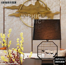 INPHIC-現代新中式簡約創意檯燈客廳臥室床頭燈酒店賓館茶樓工程裝飾燈具-A款咖啡色燈罩_S3081C