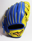 [陽光樂活=] 美津濃 Mizuno STARIA 外野手用硬式手套 棒球 壘球 - 1ATGH70517萊姆黃x寶藍