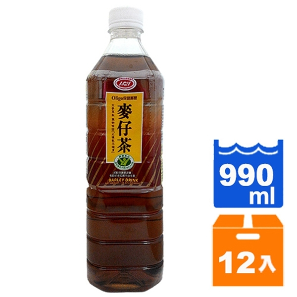 愛之味麥仔茶-990ml(12罐/箱) [郵寄免運]
