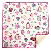 【日本製】【+ima】今治毛巾 Imabari Towel 禮品組  手帕 櫻花和貓頭鷹(一組:10個) SD-2147-10 - 日本製