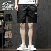 短褲 大口袋設計素面迷彩抽繩五分褲【NZ71916】