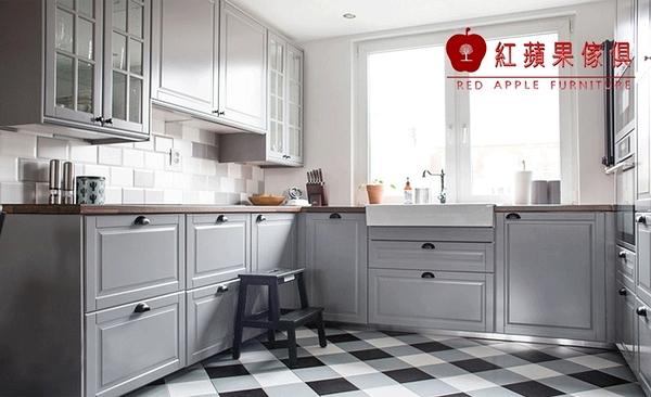 [紅蘋果傢俱] LC-02 全屋訂製 櫥櫃 系統櫃 大裡石櫥櫃 廚具 客制化產品
