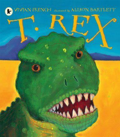 【麥克書店】T. REX /英文繪本附CD 《主題:自然科學》
