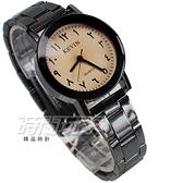 KEVIN 造型時刻 流行錶 立體多角切割鏡面 學生錶 防水手錶 IP黑電鍍 女錶 KV2075白小