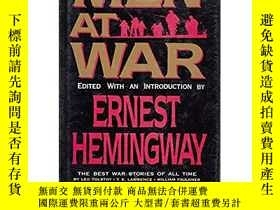 二手書博民逛書店Men罕見at War: The Best War Storie