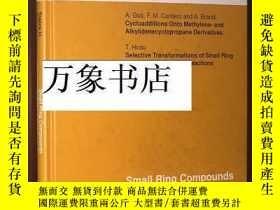 二手書博民逛書店Topics罕見in Current Chemistry 178 : Small Ring Compounds i