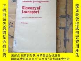 二手書博民逛書店Glossary罕見of TransportY11418 G.