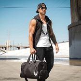 肌肉健身馬甲兄弟連帽運動無袖馬甲薄款修身背心男外套潮砍袖馬甲 全館9折 XL/灰色4-3