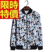 棒球外套男夾克-棉質保暖潮流街頭韓系酷炫精美2色59h12【巴黎精品】