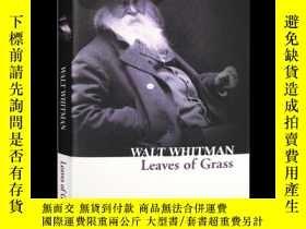 二手書博民逛書店草葉集罕見英文原版 英文詩歌 Leaves of Grass 惠