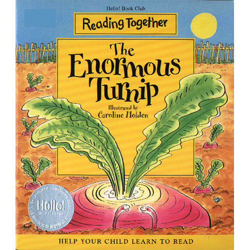 【Reading Together】The Enormous Turnip(1Book + 1CD)