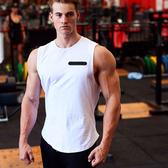 肌肉兄弟運動背心男式戶外休閒健身背心圓領打底衫透氣訓練服上衣