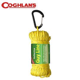 丹大戶外【Coghlans】加拿大 2.5MMX15M REFLECTIVE GUY LINE 反光營繩 1630