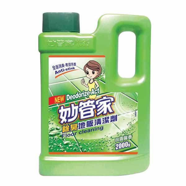 【妙管家】地板清潔劑(薰衣草香) 2000gm