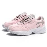 ADIDAS ORIGINALS FALCON 粉 粉白 老爹鞋 麂皮 運動 休閒鞋 女(布魯克林) FV4660