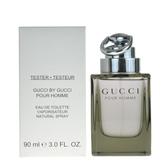Gucci by Gucci 同名男淡香水 90ml Tester包裝有蓋