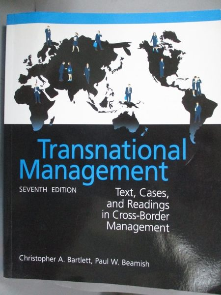 【書寶二手書T6/財經企管_QXE】Transnational Management:Text, Cases &