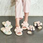 除舊迎新 情侶棉麻拖鞋女夏季室內居家防滑可愛厚底一家三口兒童亞麻家居鞋