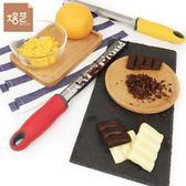 304不銹鋼檸檬刨片刀 芝士奶酪擦絲器 巧克力烘焙刮屑刀 刨片刨花 (購潮8)