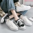小白鞋女2021新款春夏季薄款百搭平底学生韩版透气休闲帆布鞋板鞋