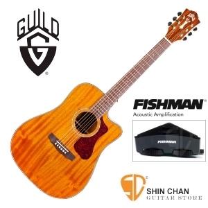 美國經典品牌 Guild D-120CE 可插電切角全單板吉他(標準D桶身)Fishman拾音器/附原廠吉他袋/軟Case