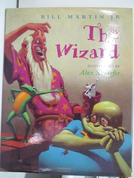 【書寶二手書T4/少年童書_DPV】The Wizard_Alex Schaefer