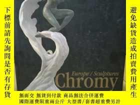 二手書博民逛書店Chromy罕見Europe Sculptures by Giu