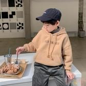 兒童衛衣連帽男孩帶帽兒童韓版休閒冬秋季【聚可愛】