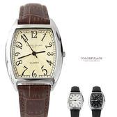 手錶 經典酒桶造型數字皮革腕錶 原廠公司貨 范倫鐵諾Valentino 【NE1534】單支價格
