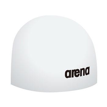 *日光部屋* arena (公司貨)/FAR-0900-WHT 鋼盔式/競賽款/矽膠泳帽