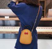 鍊條包北包包小包包女潮斜背包女包時尚百搭鍊條迷你櫻桃包 美物居家