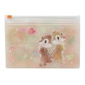 【震撼精品百貨】迪士尼 DISNEY 奇奇&蒂蒂 CHIP&DALE 抗菌雙層夾鏈袋(可放口罩) *13589