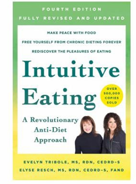 [2美國直購] 2021 AMAZON 暢銷書排行榜 Intuitive Eating: A Revolutionary Anti-Diet Approach (English) Paperback