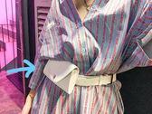 2018新款原宿小包韓版港風手機包街頭迷你小腰包小包包女士皮帶包   LannaS