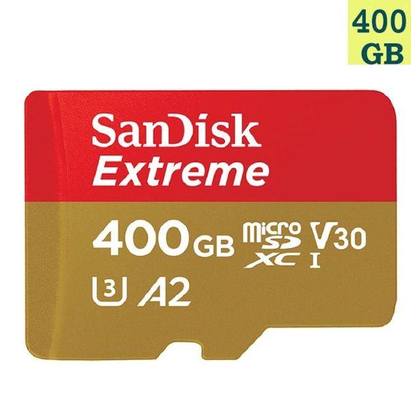 【免運】SanDisk 400GB 400G microSDXC【Extreme 160MB/s】microSD micro SD SDXC UHS 4K U3 V30 A2 SDSQXA1-400G..
