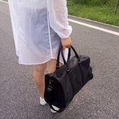 新款行李包大容量行李袋防水旅行包女旅行袋手提運動包男健身包『櫻花小屋』