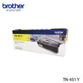 BROTHER 原廠黃色碳粉匣 TN-451Y (適用HL-8360 , MFC-8900) TN 451