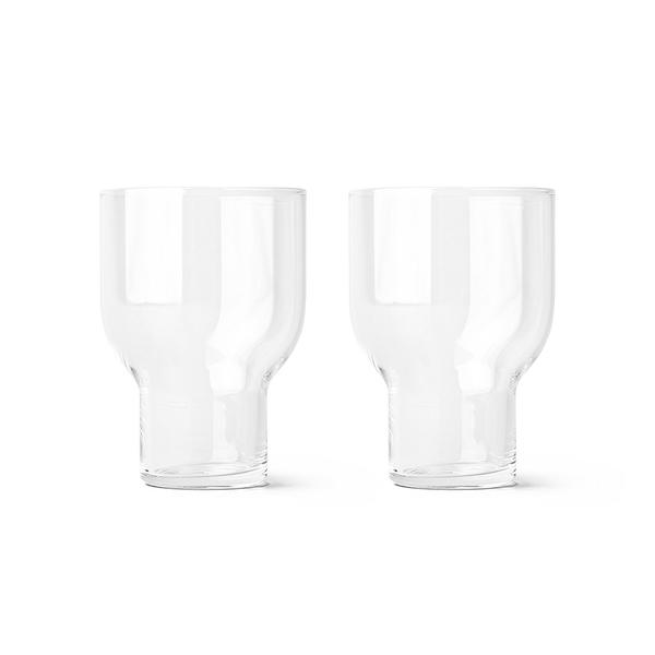 丹麥 Menu Stackable Glass 330cc 2pcs 晶漾玻璃系列 水杯 兩件組 - 大尺寸