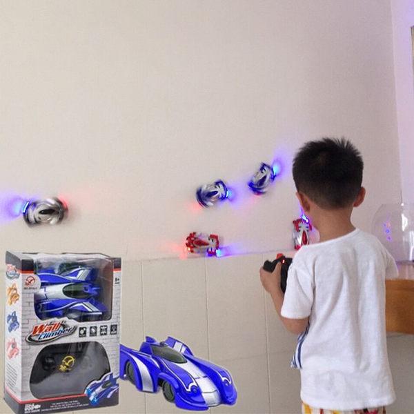 爬墻車遙控車電動玩具攀爬漂移兒童玩具男孩2-10歲【時尚家居館】