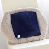 可愛夏季薄款辦公室汽車靠墊卡通腰枕大號椅子護腰靠枕靠背墊抱枕 鉅惠85折