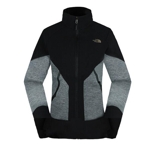 【THE NORTH FACE 美國】女 連帽軟殼刷毛外套『黑』NF0A3L9E 保暖外套 兩件式外套 GORE-TEX